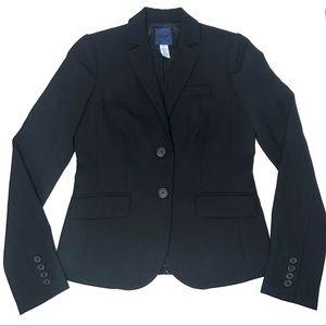 J Crew Women's Wool Suit Jacket SZ 2T
